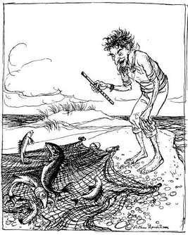 Le pêcheur et les barbeaux Esope_20_Pecheur_Poissons-89bd9
